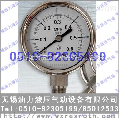 耐震压力表YN100ZT