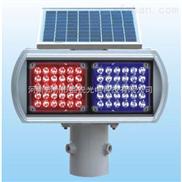 太阳能两组双面爆闪灯|交通警示灯|爆闪灯厂家|红蓝爆闪灯