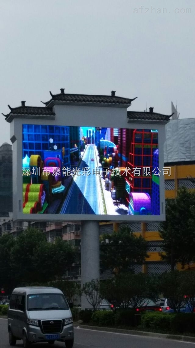 户外投放广告的LED电子大屏幕造价需要多少