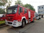 重汽豪沃8吨水罐消防车厂家价格