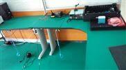 微电子厂房内布置导静电地垫胶皮及防静电工作台胶皮规范防静电区域