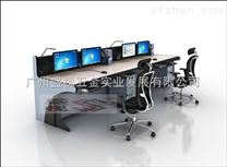 河源市电力调度台 国家电网控制中心主控桌 供电局指挥中心控制台