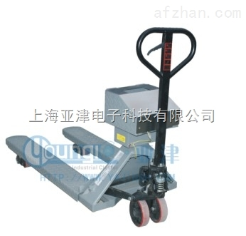 YCS-2T化工行业防爆秤全不锈钢材质叉车秤电子秤3T
