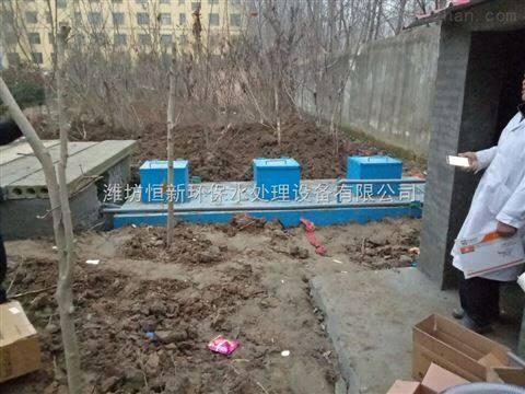 朔州地埋式医院污水处理装置