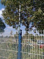 铁栅栏防盗电网