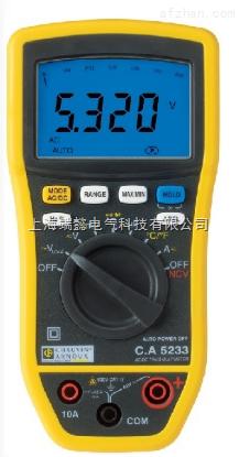 CA5233 6000-计数数字万用表