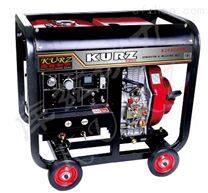 手推式250A柴油自发电电焊机价格