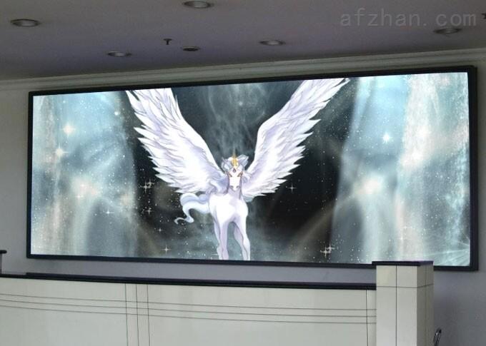 p1.923室内 内蒙古立柱大屏幕室内led显示屏