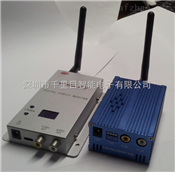无线微波传模拟摄像输出画面信号1800米2.4G3000毫瓦
