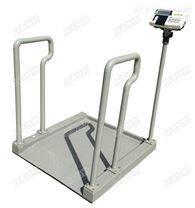 带扶手医院轮椅秤,可连电脑轮椅电子秤