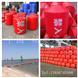 供应内河浮标 红色塑料浮漂球