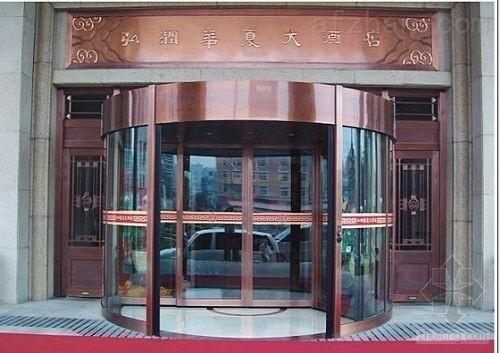 深圳酒店自动旋转门生产厂家