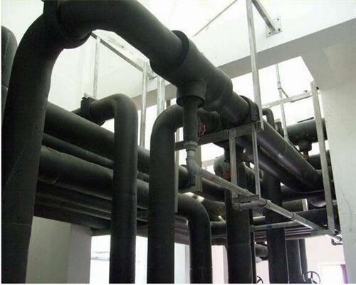 工厂等室内外热水管道系统