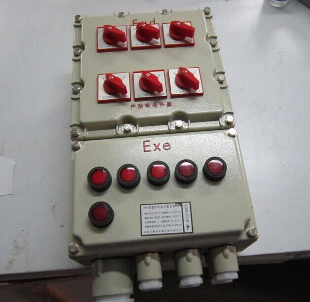 风机按钮指示灯接线图