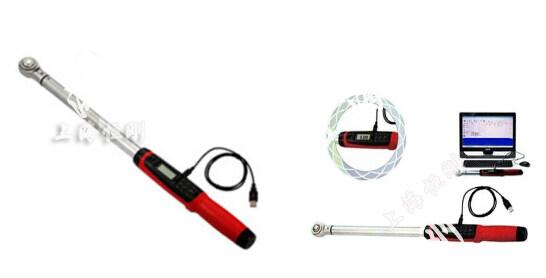 带USB输出力矩值数显扭矩扳手