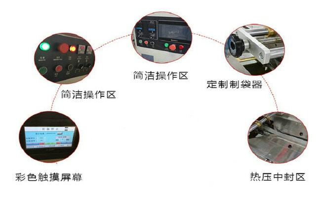 国产枕式包装机细节图